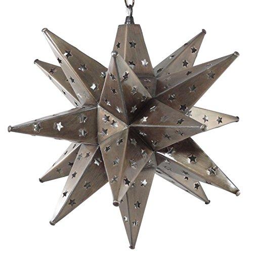 Tin Star Pendant Light in US - 6
