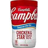 campbells chicken e - Campbell's Soup on the Go, Chicken & Star Shaped Pasta, 10.75 Ounce (Pack of 8)