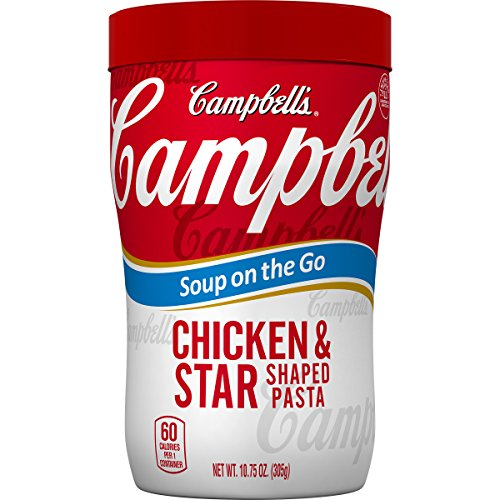 Campbell's Soup on the Go, Chicken & Star Shaped Pasta, 10.75 oz (Pack of ()