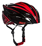 AWE AWEBlade FREE 5 YEAR CRASH REPLACEMENT* In Mould Adult Mens Racing Cycling Helmet 58-61cm Black/Red
