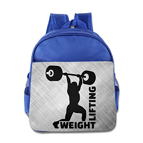 Training Dumbbell Weight Lifting School Child Backpack Boys Girls Bags (Batman Evolution Costume)