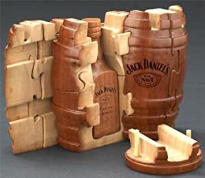 Jack Daniels Whiskey Barrel Party Barrel w/Lid and liner