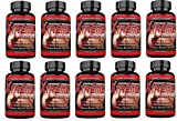 Nitric Oxide Xtreme 5000 Muscle Growth Testosterone Booster Supplement 60 Capsules Per Bottle (10 Bottles)