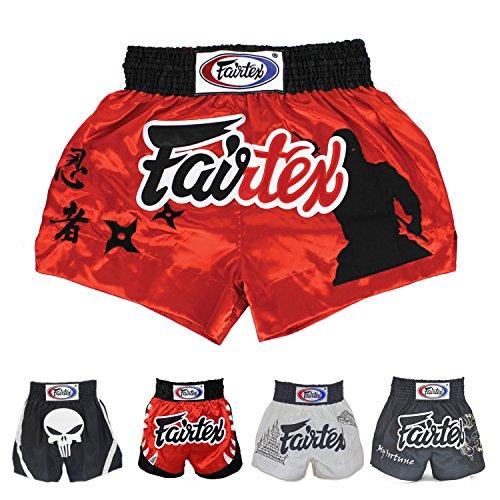 Fairtex Muay Thai Boxing Shorts (The Assassin BS0638,L)