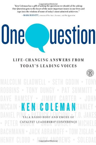 One Question: Life-Changing Answers from Today's Leading Voices by Simon & Schuster