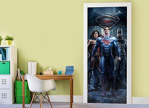 Batman v Superman Door 1 Wall (Diy X Ray)