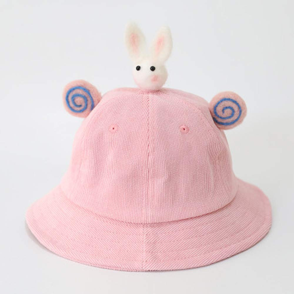 18a92959 Greatgiftlist 3-4 Year Old Baby Bucket Sunshade Protection Cap Fisherman  Hats/Beach Cap/Outdoor Hat (Pink) at Amazon Women's Clothing store: