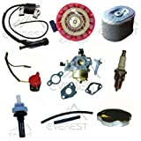 9hp carburetor - Honda Gx270 9hp Carburetor Recoil Ignition Coil Spark Plug Air Filter Gas Cap Tune up Kit