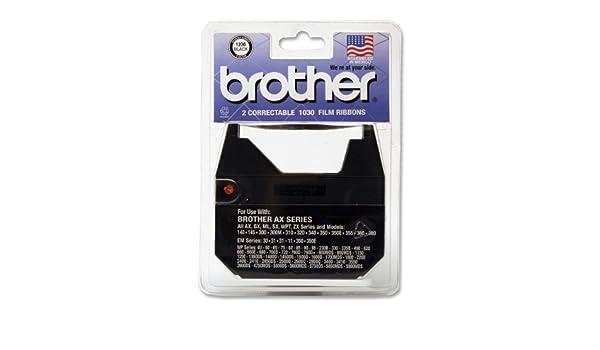 Brother 1230 correctores cinta para Daisy cilindro de máquina de escribir antigua (, 2 unidades): Amazon.es: Electrónica