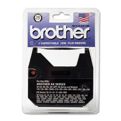 Brother 1230 correctores cinta para Daisy cilindro de máquina de escribir antigua (, 2 unidades