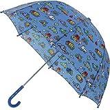 Pluie Pluie Raingear Blue Truck Kids Umbrella