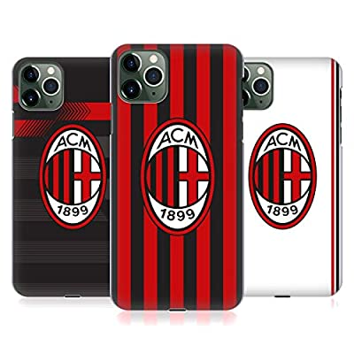 Official AC Milan 2017/18 Crest Kit Hard Back Case Compatible for iPhone 11 Pro Max