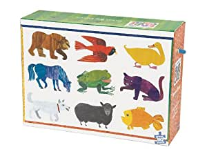 Eric Carle Brown Bear Floor Puzzle by Mudpuppy (21878)