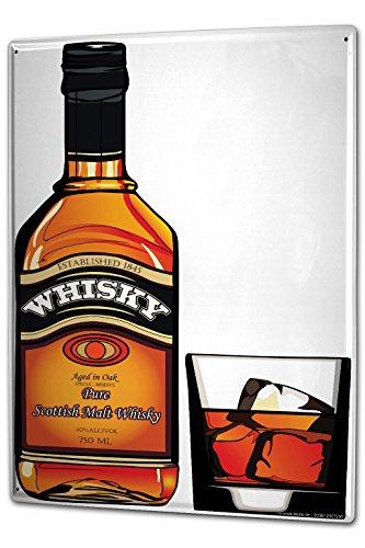 Tin Sign XXL metal plate plaque Nostalgic Alcohol Retro Scottish malt whisky