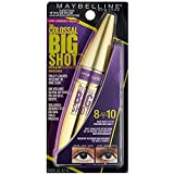Maybelline Volum' Express The Colossal Big Shot Washable Mascara, 223 Blackest Black (Pack of 2)