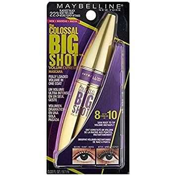 460a94ecee2 Image Unavailable. Image not available for. Color: Maybelline Volum'  Express The Colossal Big Shot Washable Mascara ...