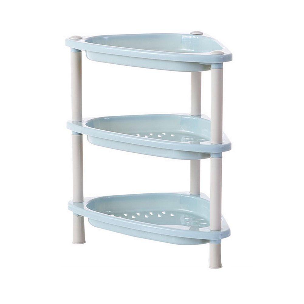 Amazon.com: diffstyle Plastic 3 Liner Shelf Free Stand Corner ...