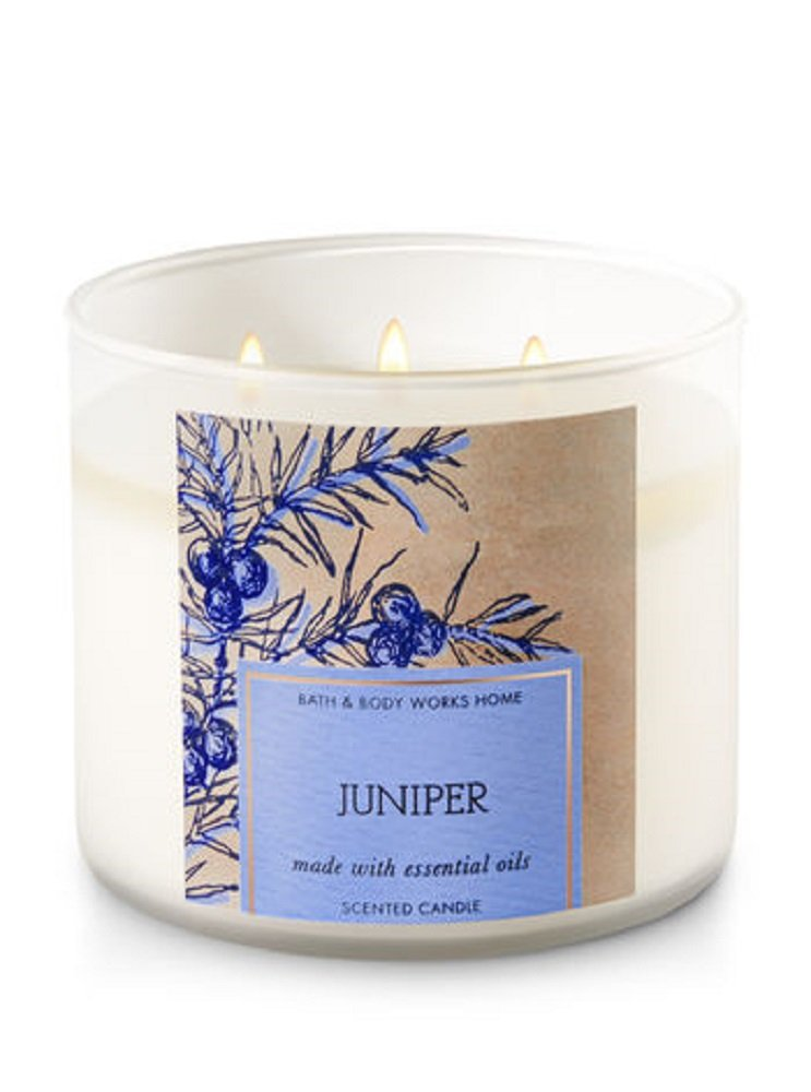 Bath & Body Works 3-Wick Candle in JUNIPER