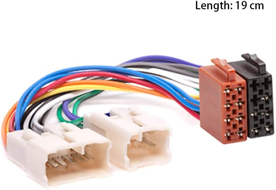 [SCHEMATICS_4US]  Amazon.com: Practical Aftermarket Undamage Adapter Car Radio Plug Cable  Connect Accessories Durable Wiring Harness Auto Modification 12V: Kitchen &  Dining | Car Audio Wiring Accessories |  | Amazon.com