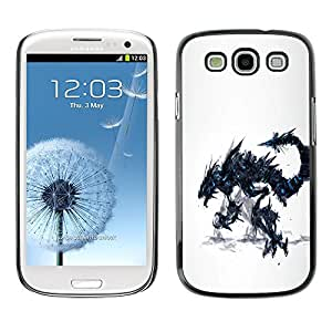 Impact Case Cover with Art Pattern Designs FOR Samsung Galaxy S3 Dragon Monster Betty shop