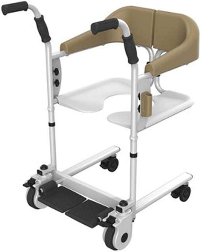 Antigüedad Walker plegable Roller ajustable mango, multifunción lift puede un baño con ayuda de WC tomar. Ayuda para el cuidado de personas mayores.