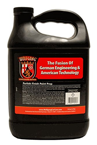 Wolfgang Concours Series WG-4402 Finish Paint Prep, 128 fl. oz.