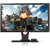 "Monitor Gamer BenQ Zowie XL2430 de 24"" 144Hz, Conexão Display Port, Lag-Free, Black Equalizer, S-Swtich, Low Blue Light e Ajuste de Altura, Grafite Fosco"