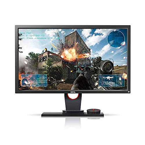 BenQ ZOWIE XL2430 24 inch 144Hz Gaming Monitor   1080p 1ms   Black Equalizer for Competitive Edge   S-Switch for Custom Display Profiles