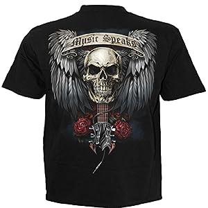 Spiral – Men – Unspoken – T-Shirt Black