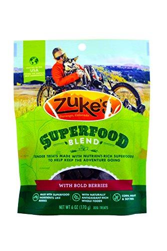 Zukes Super Berry Blend Treats - 6 oz (Pack of 2)