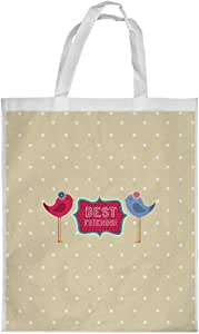 Best friends Printed Shopping bag, Medium Size