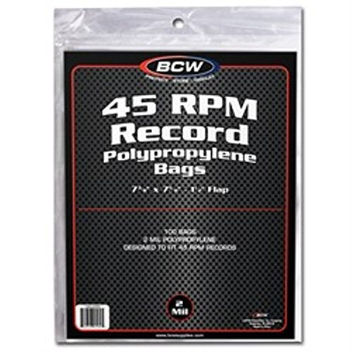 pack BCW record bags flap