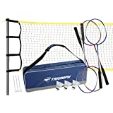 Triumph 4-Player Competition Badminton Set