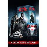 Batman v Superman: Dawn of Justice (3 Disc) (Bilingual) with Amazon Exclusive Batman Figurine [Blu-ray]Ultimate Edition