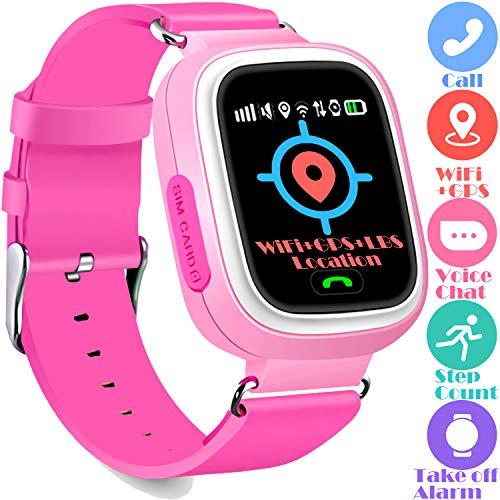 Kids GPS Tracker Watch Phone - WiFi GPS LBS Positioning Locator 1.2