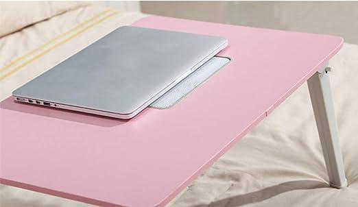 KHSKX Moderno Escritorio Plegable Simple de portátil, pequeña Mesa ...