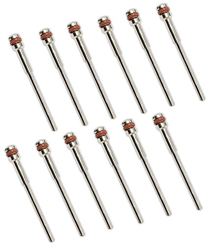 12 Piece Package Of Mandrel #1 With 3/32 Inch Screw And 3/32 Inch Shank ()