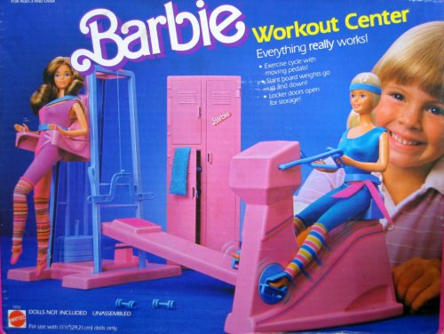 Barbie Workout Center Playset - Everything Really Works! (1984)