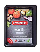 Pyrex Magic Bandeja de Horno, Negro