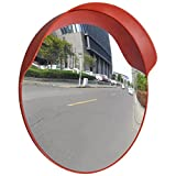 Outdoor Road Traffic Convex PC Mirror Safety & Security, Wide Angle Driveway, 24''