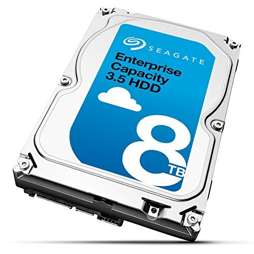 Seagate Enterprise Capacity 3.5 HDD 8TB 7200RPM 12Gb/s SAS 256 MB Cache Internal Bare Drive ST8000NM0075 by Seagate