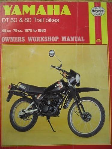 yamaha dt50 and 80 trail bikes owner s workshop manual chris rogers rh amazon com yamaha dt 200 service manual pdf yamaha dt 200 workshop manual free download