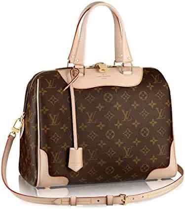 Authentic Louis Vuitton Monogram Canvas Retiro NM Tote Handbag Article M50056  Brown Made in France a1022aafcb170