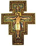 San Damiano Religious Wall Crucifix, 10 in