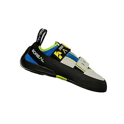 Boreal Climbing Shoes Mens Joker Doublestrap 6 Black Tan Blue 11365: Sports & Outdoors