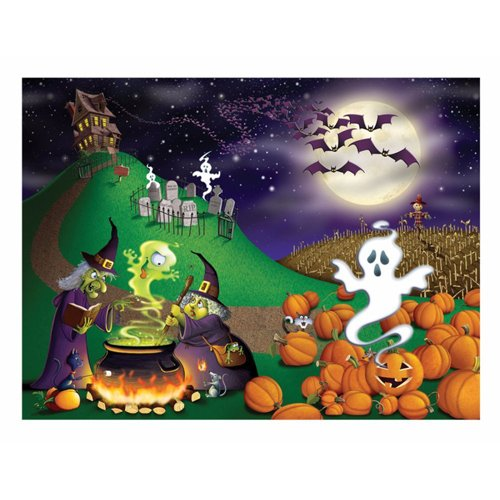 Beistle Halloween Insta Mural, 5-Feet by