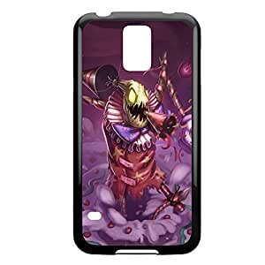 FiddleSticks-004 League of Legends LoL case cover HTC One M8 - Plastic Black