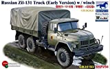 Russian Zil-131 Truck (Early Version) With Winch 1/35 Military Model Kit by Bronco Models