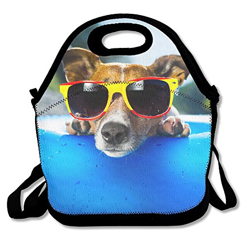 Tydo Lunch Bags Duck Dog Sunglasses Diagonal Bags Picnic Bags Bento Bags For Teen Adult Kids - At Kids Sunglasses Walmart For