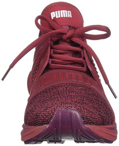 Puma 189987-04 Uomini Accendono Senza Limite Maglia Tibetano Rosso Sil